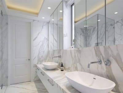 Luxury, modern white marble 2020 models